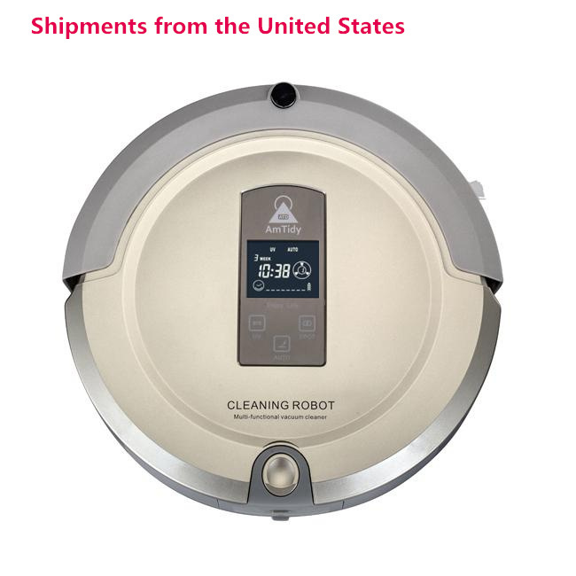 NEW 2015 Amtidy Automatic Intelligent Robot Vacuum cleaner Multifunction Household Cleaning 100V-240V Shipment from America(China (Mainland))