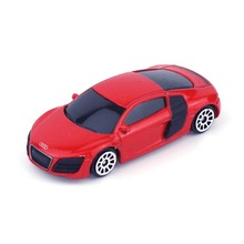 RMZ City 344996S 1:64 Scale 3 Inch  Audi R8 Die Cast Car Toys for Collection Children Gift Red Silver(China (Mainland))
