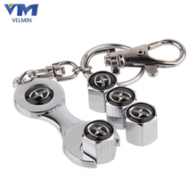 Super Quality Car Wheel Car Styling Tire Valve Caps With Mini Wrench & Keychain Case For Scion (4Pieces/Pack)(China (Mainland))