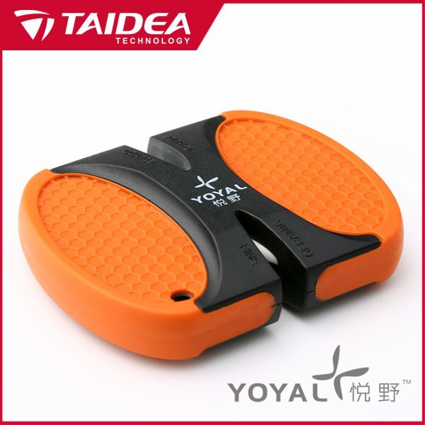 TAIDEA T1301TC Taidea wholesale outdoor knife sharpener mini pocket knife sharpening tool sharpener knife(China (Mainland))