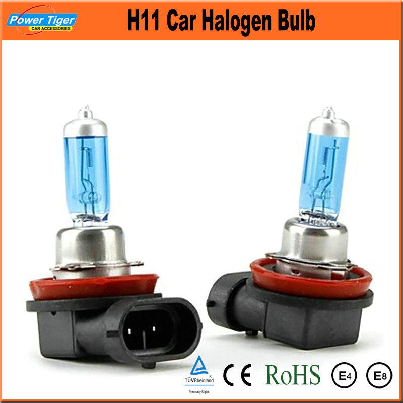 Источник света для авто Powertiger 2 x H11 12V 55W 6000K источник света для авто oem 30pcs h11 12v 55w pgj19 2 cp010