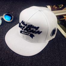 2016 Hot Fashion Letter Women Men White Baseball Cap Adjustable Outdoor Leisure Sport Hat Snapback Skateboard Hip-Hop Caps w031(China (Mainland))