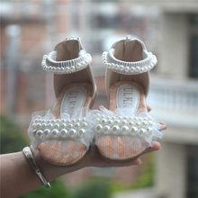 סגול ורוד לבן ילדי נעלי בנות נסיכת נעלי אופנה בנות סנדלי ילדים מעצב אחת נעלי קיץ חדש בנות סנדלי(China)
