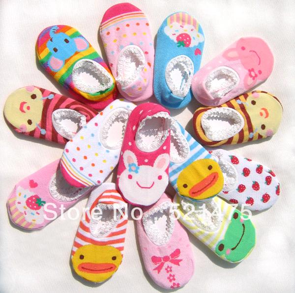 Младенцы носки обувь для новорожденного младенцы обувь нет - скольжение резина дети обувь девочки кружево короткая носки