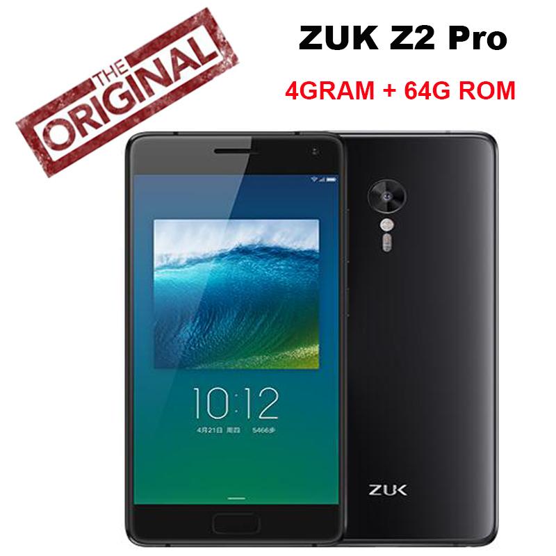 New Original Lenovo ZUK Z2 Pro Phone 4G RAM 64G ROM Snapdragon820 Quad Core 2.15GHz 5.2'' 1920*1080P Supper AMOLED 13MP Camera(China (Mainland))