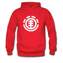 2015 Winter Men's Skateboard Element Hoodies Men Hip Hop Sweatshirts Man Fleece Hoody Pullover Sportswear Clothing