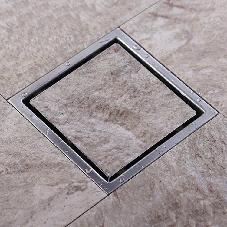 Afvoer Douche Diameter ~ Tile Insert Rectangular Floor Waste Grates Bathroom Shower Drain ,304