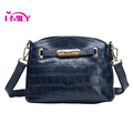 2016 fashion women s Genuine Leather handbags small pattern solid bag women Messenger bags quality female
