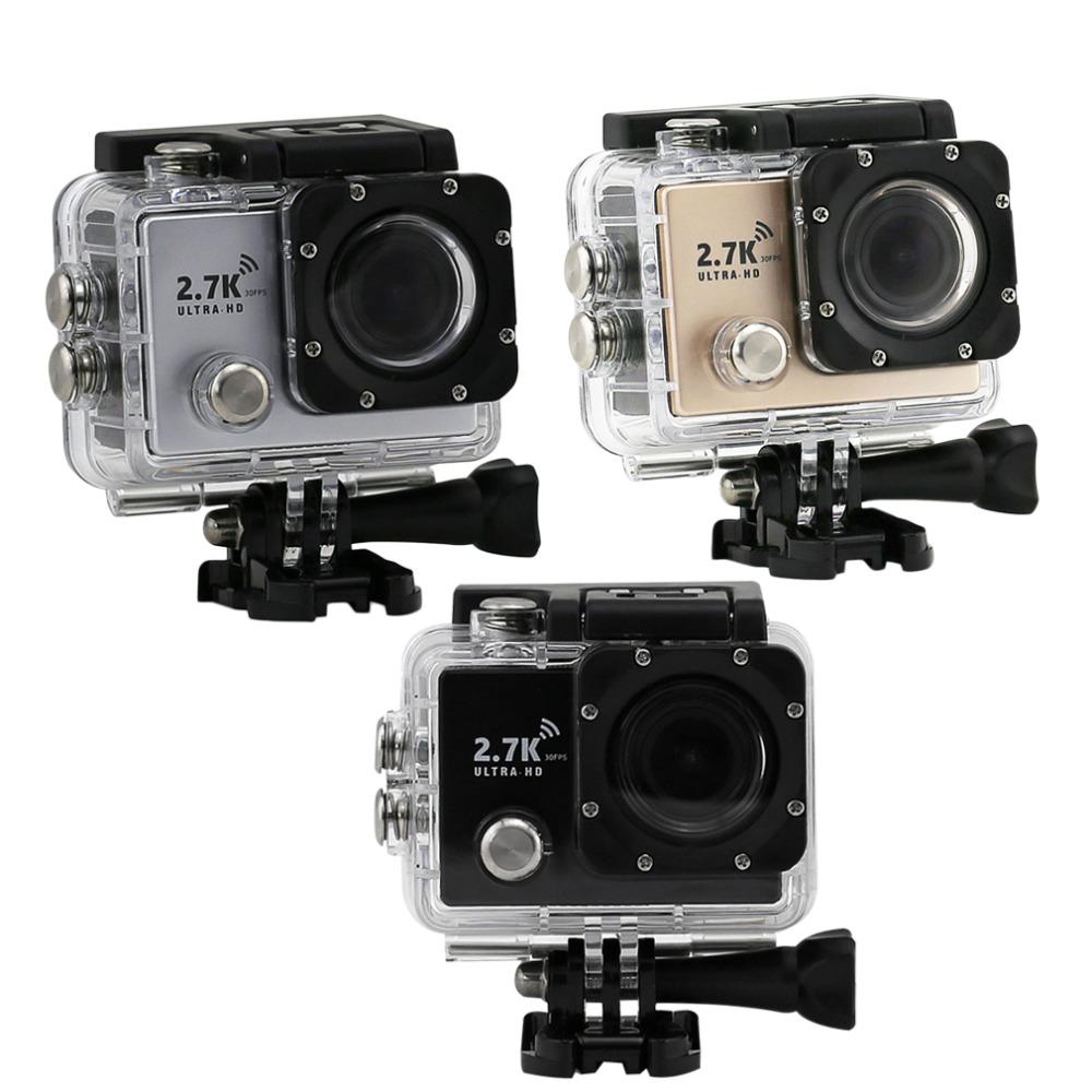 New 2.7K HD WiFi Sport DV Camera 2 inch 14MP 1080P 170 Wide Lens Waterproof Wholesale<br><br>Aliexpress