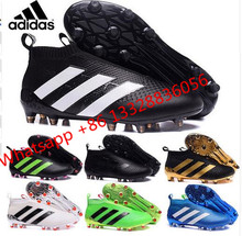 2017 new High Ankle original FoOTBaLls BoOTs FG AG Outdoor SoCCeRs Ace 16 Purecontrols shoes eur 39-46 p0774(China (Mainland))
