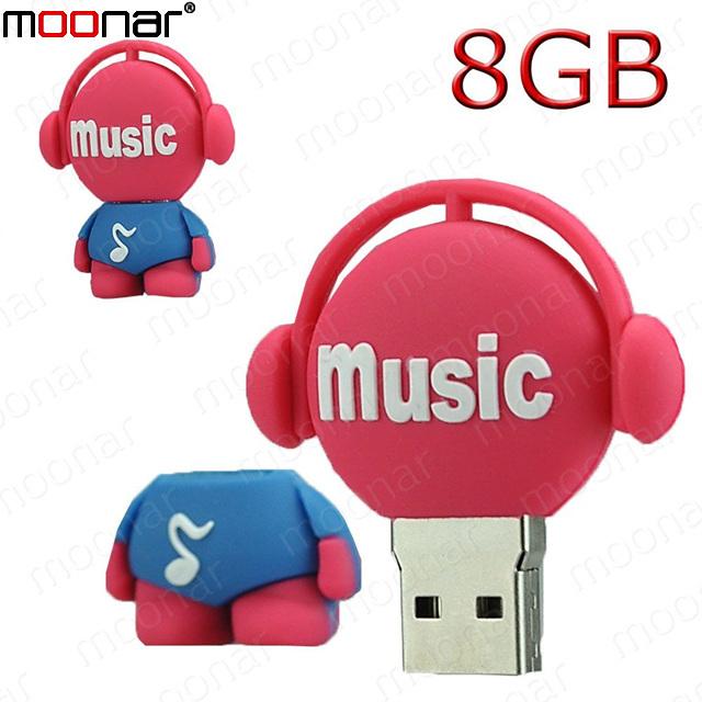 Real Capacity 8GB usb flash drive Musician Type Pen Driver Gift USB Flash Disk X90*DA0068#M10(China (Mainland))