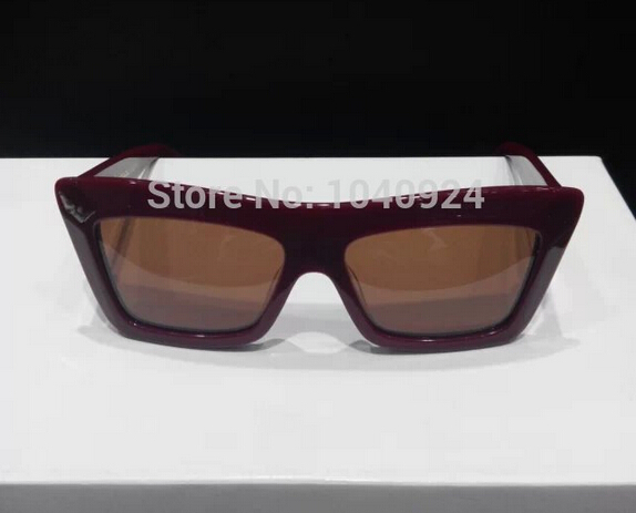 2015 new fashion sunglasses CL CL41804 wine red frame ...