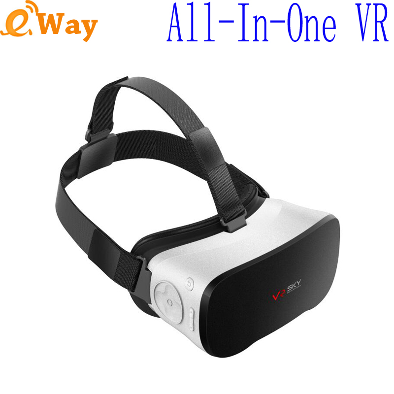 2016 New CX-V3 VR Glasses All in one VR 3D Box Virtual Reality Allwinner H8 Octa core headset Android 4.4 Google Cardboard 1080P(China (Mainland))