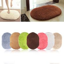 Fashion Design Hot Sale New 360 Rotatable of Super Magic Slip-Resistant Pad Room Oval Carpet Floor mats 40*60CM Free Shipping
