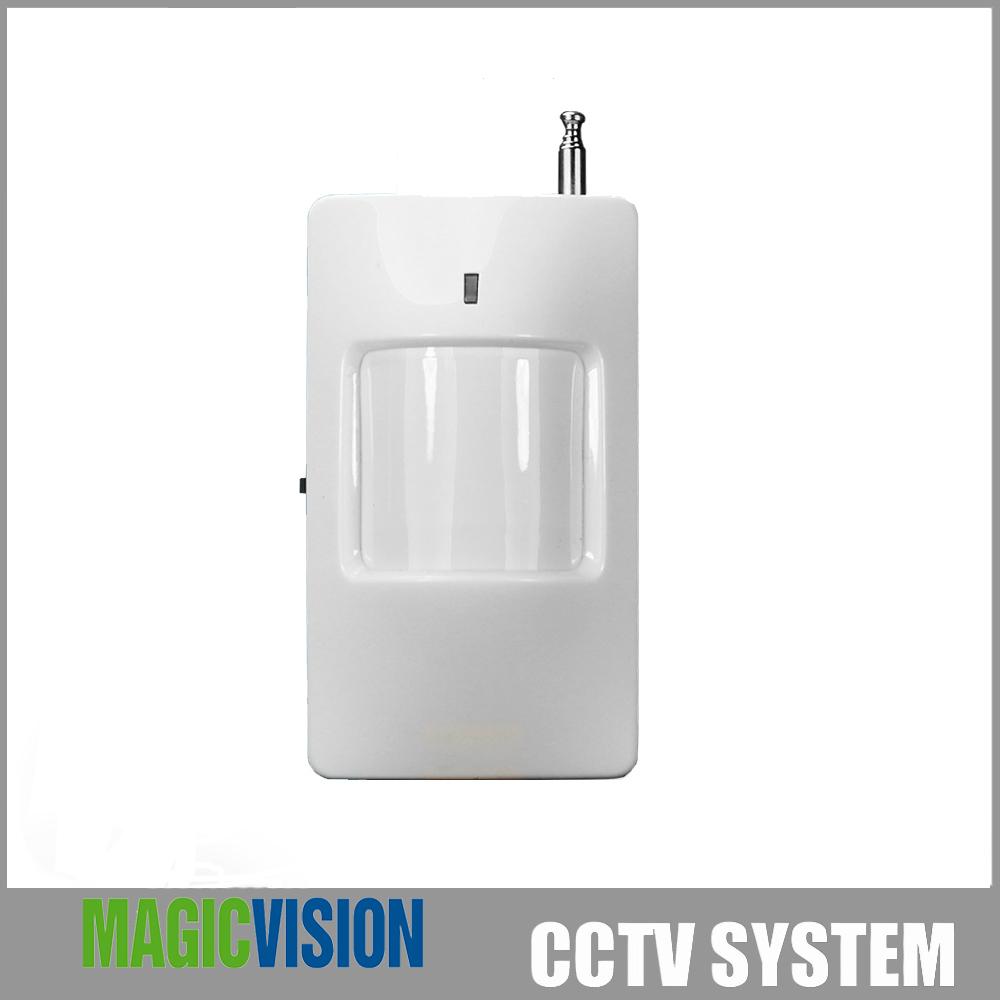 Гаджет  433Mhz Security Accessories Wireless PIR Sensor Motion Detector  for PTSN GSM Home  Alarm System PS01 None Безопасность и защита