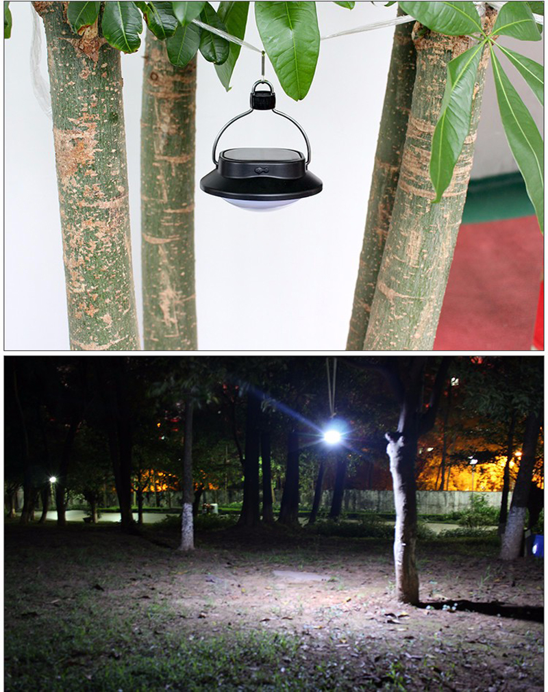 Solar Portable Lanterns Lights Lamp 60LEDs Outdoor Hanging Led Camping Lights USB Rechargeable Battery Waterproof IP65 Led Bulb (12)
