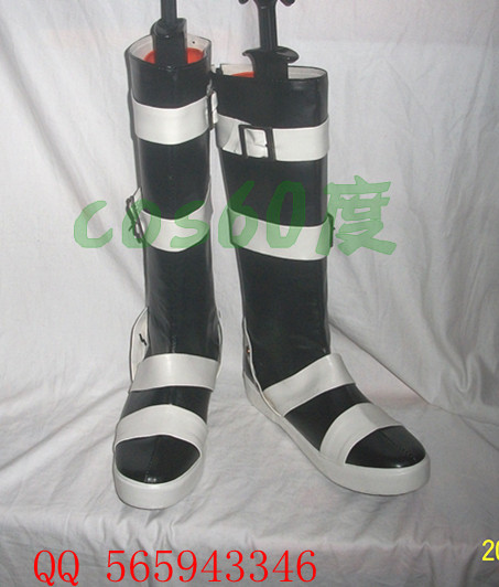 Soul Eater Maka Leather Foam Cosplay Shoes S008(China (Mainland))