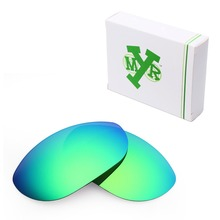 MRY POLARIZED Replacement Lenses for Oakley Monster Dog Sunglasses Emerald Green