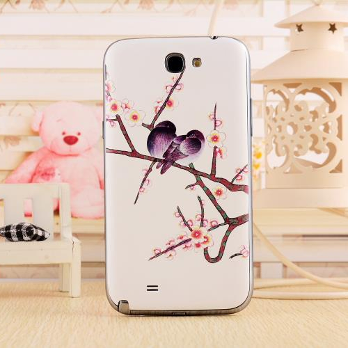 3D Color Painted Replacement Back Cover Samsung Galaxy Note 2 Battery Door Case N7100 - Digital Fittings E-shop store