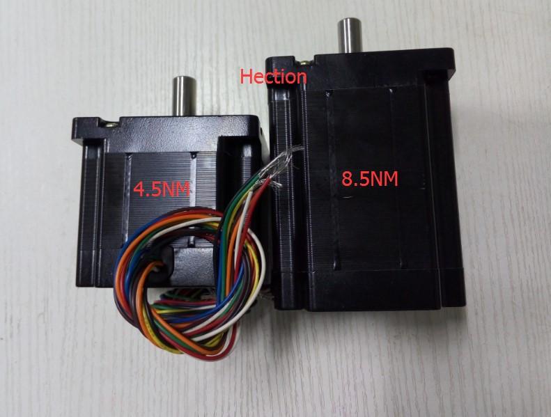 New 8 leads wires nema 34 stepper motor output 8 5nm for Nema 34 stepper motor mount