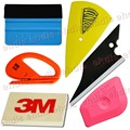 6 IN 1 Car Wrapping Tool Kits Lil Chizler 3M Felt squeegee Woollen Squeegee Safety Snitty