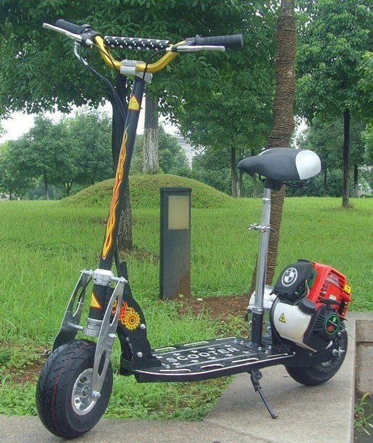 4-stroke Gas scooter 139F