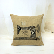 Retro Vintage Throw Pillows Cushion