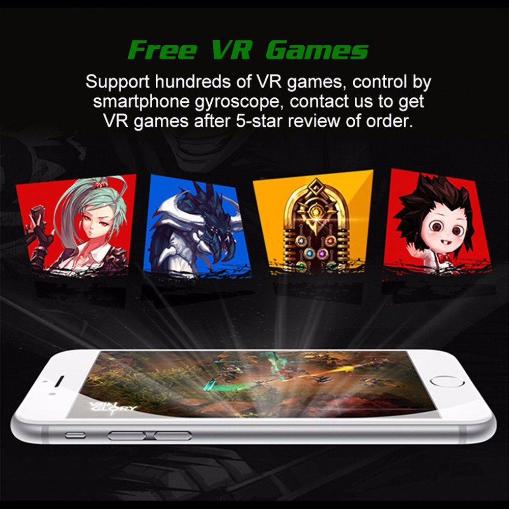 - HTB1llZuOpXXXXa6XpXXq6xXFXXXL - VR Box Shinecon 1 VRBOX Casque Video 3D Gerceklik Google Cardboard Virtual Reality Goggles 3D Glasses Headset Smartphone Helmet