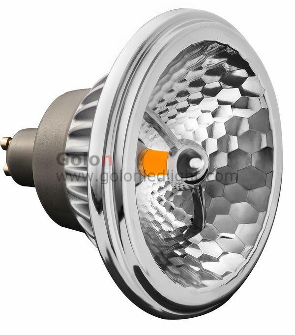 AR111 LED bulb 15W, GU10 base, CREE COB LED, 24pcs/lot,C E RoHS, 3 years warranty,Fedex/DHL free ES111 LED spotlight(China (Mainland))