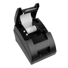 NEW 58mm POS Thermal Dot Receipt Bill Printer USB Mini Set Roll Paper POS-5890C Free Shipping(China (Mainland))
