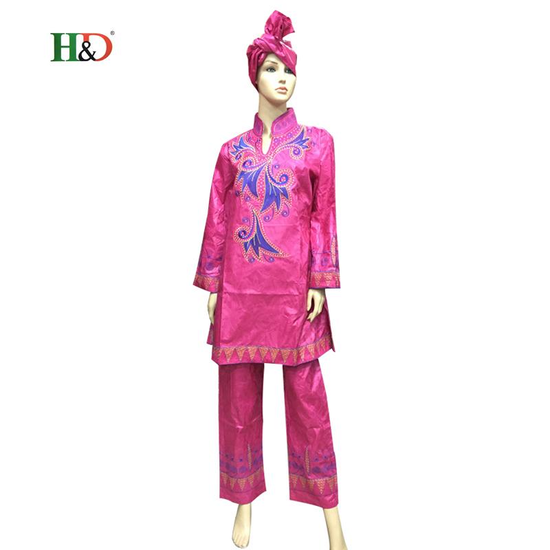 Baizn Projeto Africano Riche Vestido Bordado Material For Women Long Sleeve Embroidery Dress Fashion   HM62Одежда и ак�е��уары<br><br><br>Aliexpress