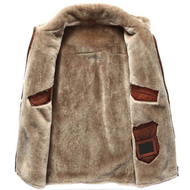 Real Fur Lined Coat - Coat Nj