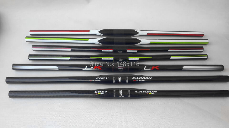 Many styles carbon mountain bike handlebar MTB bicycle handlebar 31 8 580 600 620 640 660