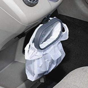 Portable Plastic Car Garbage Trash Bag Frame Holder Easy Dust(China (Mainland))