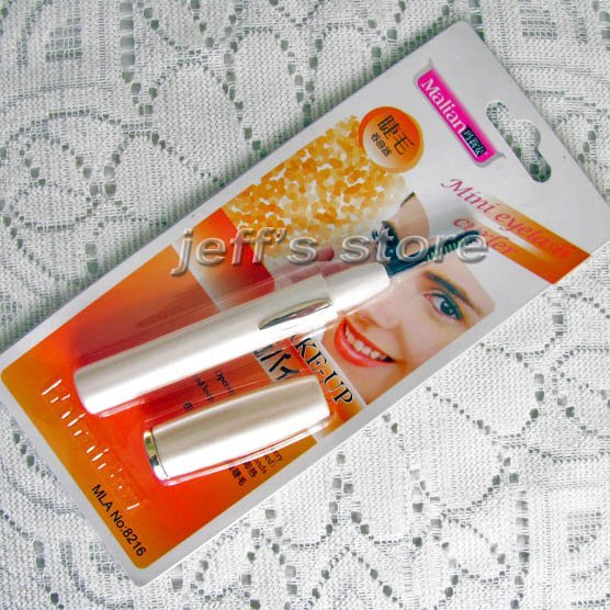 Pen-Style Heated  Electric Eyelash Comb Curler Tool Long Lasting Free Shipping