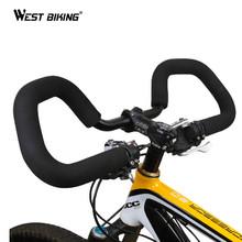 Cycling Handlebar 25.4/ 31.8*590mm  Aluminium Alloy MTB Fixed Gear Road Bike Bicycle Butterfly Handlebar+ Handlebar cover