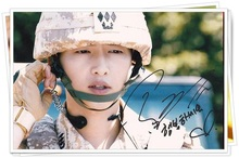 Song Joongki Joong Ki autographed photo korean wishes Descendants sun 4*6 inches freeshipping 07.2016 05 - Gagagallery store