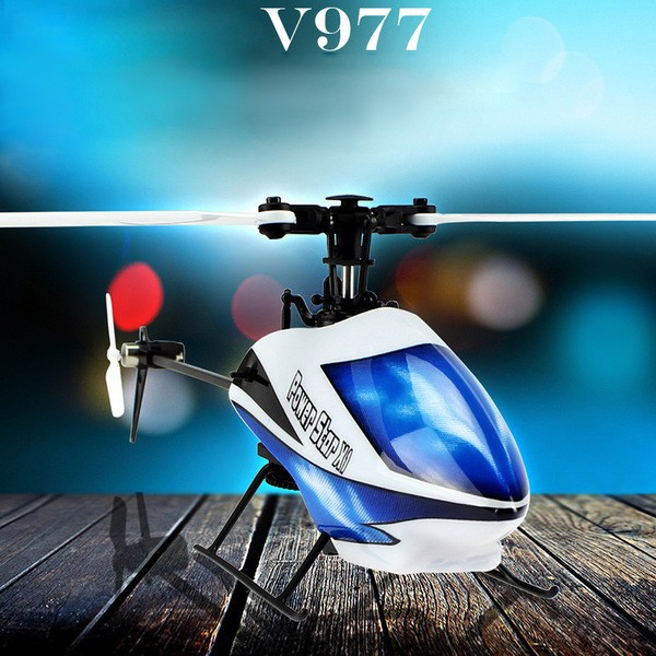 V977-rc helicopter-6CH 2.4G Brushless RC Helicopter-6