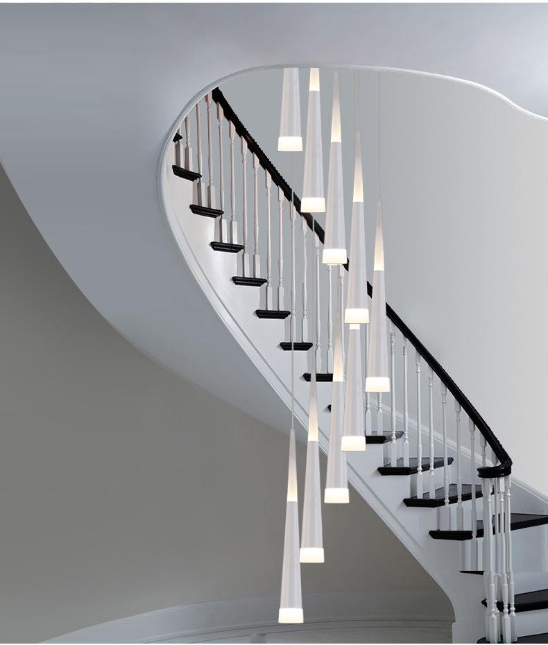 Lamparas led de techo modernas - Lamparas de escalera ...