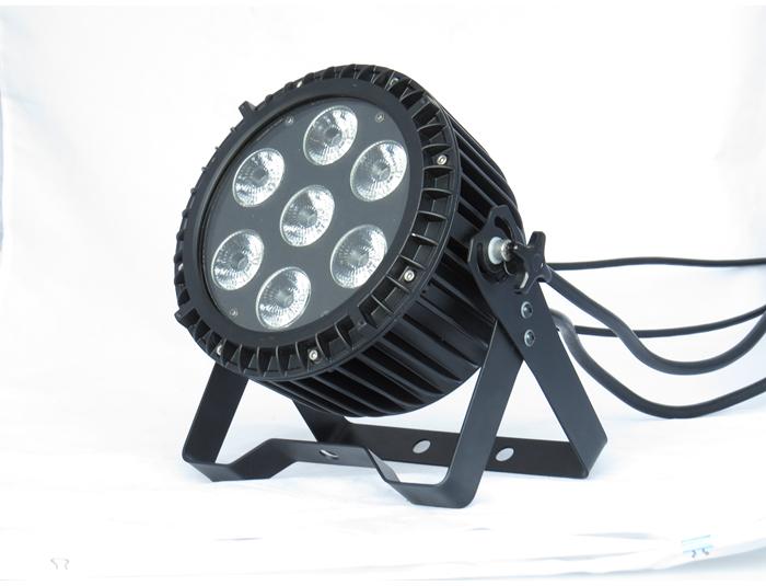 4pcs/lot 7x18W 6in1 RGBWA+UV DMX LED Par Stage Lights Disco DJ Stage Lighting 6/10CH 90-240V(China (Mainland))