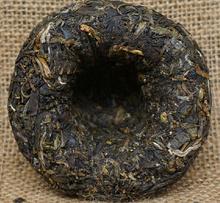 2015yr 100g Xia Guan Song He Yan Nian Jia Ji Raw Puer Tea Green Tea Tuo