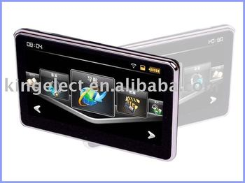 P507 Free Shipping 480*272 Pixels WinCE5.0 built in 4GB New Zealand IGO Maps 5 inch gps
