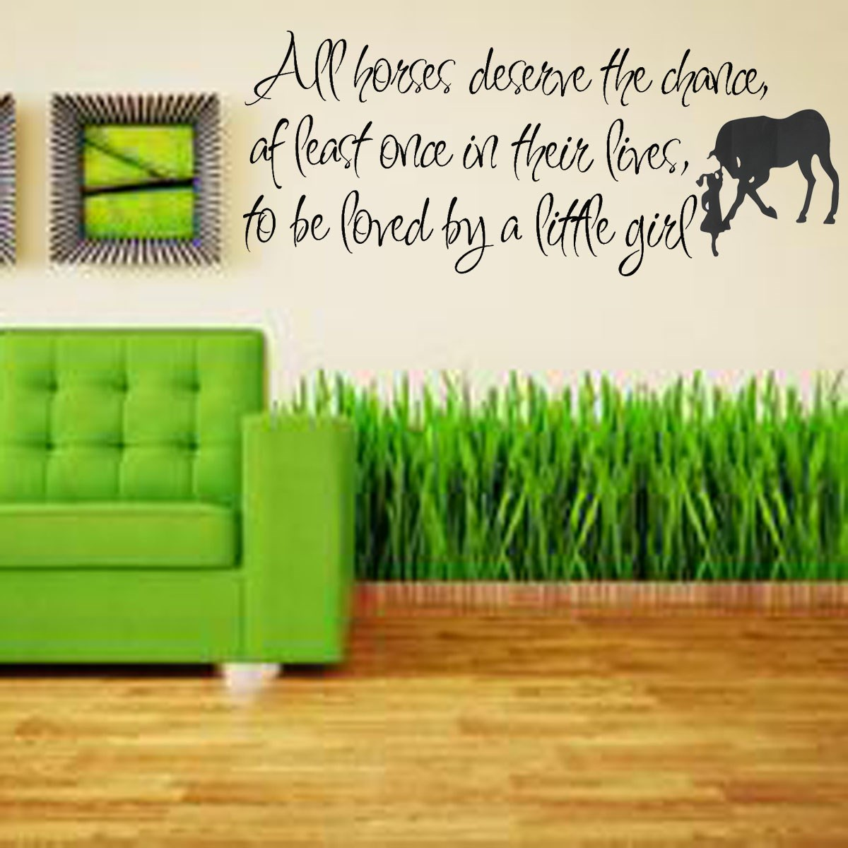 aw9376 change your mood inspirational mirror decal motivational modern design best price all horses deserve the chance love horse girls inspiration window wall stickers