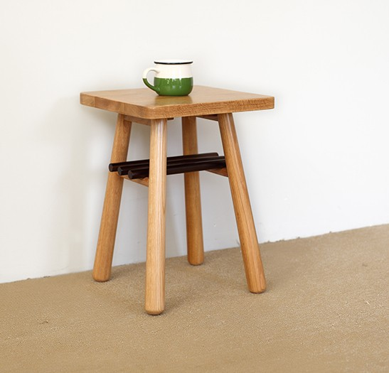 Japanese style furniture solid wood tea table oak