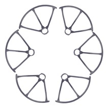 F15447/48 MJX X800 RC Drone Spare Parts: 3 Pairs Propeller Guard Bumper Protectors for MJX Hexacopter 6 Axle Gyro UAV