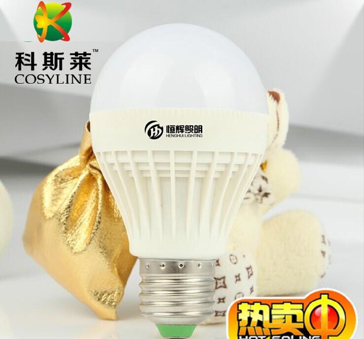 LED sound and light control corridor lights LED acousto-optic bulb 3Wled waterproof aisle induction bulb(China (Mainland))
