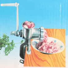 Aluminum Alloy Meat Grinder Mincer Table Hand Crank Tool Manual Meat Grinders for Kitchen Pasta Tool Cutter Slicer Beef(China (Mainland))