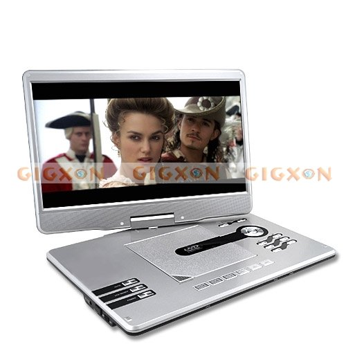 Portable Multimedia DVD Player with 15 Inch Widescreen(Hong Kong)