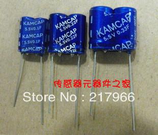 5PCS X New and original  Super Capacitor 5.5V 4F  free shipping Farad Capacitor ,Supercapacitor