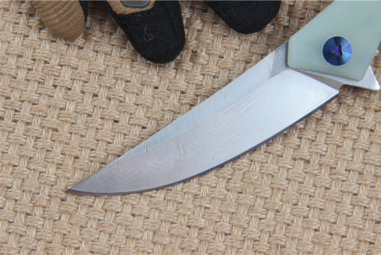 Buy Folding knife tactical knife survival knives camping handle tools D2   blade pocket knives EDC top quality free shipping cheap